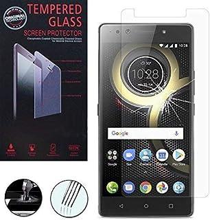 VCOMP ® skyddsfilm skärm för Lenovo K8 Note 4G 5,5 tum – 1 film hårt glas översikt