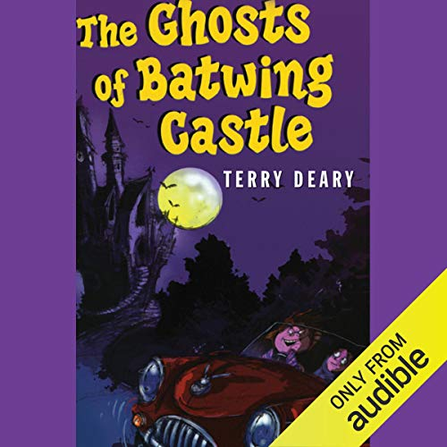 The Ghosts of Batwing Castle audiobook cover art