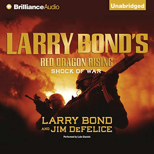 Larry Bond's Red Dragon Rising audiobook cover art