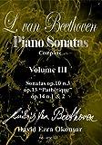 David Ezra Beethoven / Okonsar - L Van Beethoven Piano Sonatas 3 [Italia] [DVD]