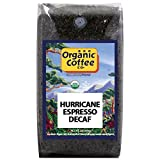 The Organic Coffee Co. Hurricane Espresso Decaf Whole Bean Coffee 2LB (32 Ounce) Medium Dark Roast Natural Water Processed USDA Organic
