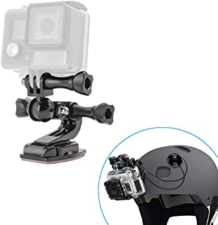 woleyi Soporte Motocicleta Casco para GoPro Kit de Soporte Moto Barbilla Casco con Cuerda Seguridad para GoPro Hero 7 6 5 4 3 SJCAM Canon Nikon y Otras Action Camaras