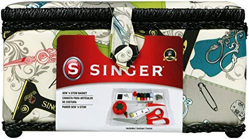 Singer Vintage Sewing Basket