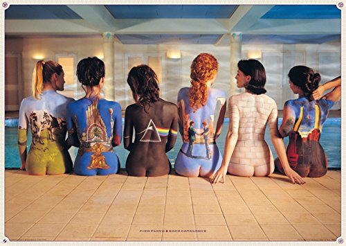 "Pyramid International ""Back Catalogue Pink Floyd Maxi Poster, Multi-Colour, 61 x 91.5 x 1.3 cm"