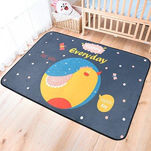CKH 150 * 200cm Kinderkamer Klein tapijt Rechthoekige Cartoon Slaapkamer Kruipbed Voorkant Mooie Woonkamer Koffie Tafel Dekbed