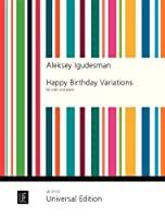 Happy Birthday Variations: for violin and piano