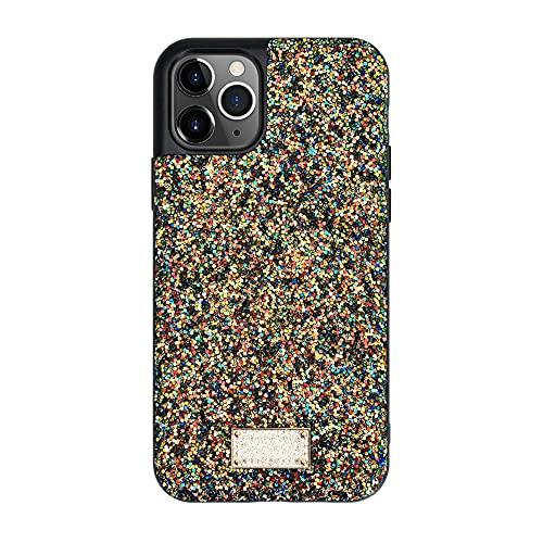 Estuche para teléfono de silicona brillante color caramelo creativo, adecuado para estuche para teléfono phone11 / 12promax / xsmax / 678plus, estuche de TPU con diamantes de imitación de color sólid