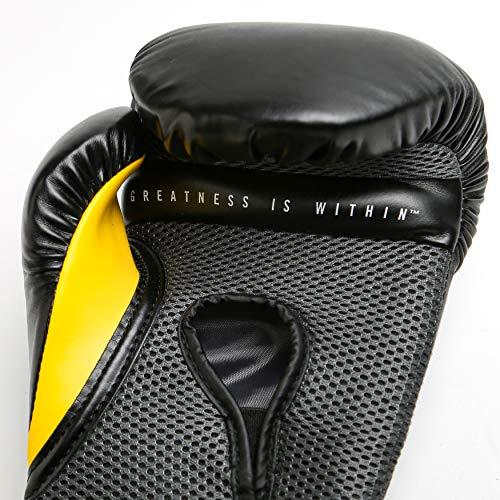 Everlast Elite Pro Style Training Gloves, Black, 14 oz