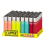 Pack de Clipper 48 Mecheros Encendedores Translucent Soft To