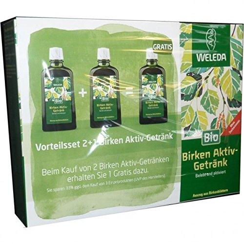 WELEDA Birken Aktiv-Getränk Vorteilsset 1 St