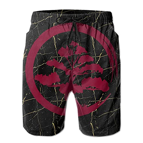 VJSDIUD Pantalones Cortos de Playa para Hombre Bonsai Tree Shorts de natación de Moda