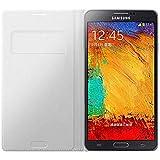 Samsung EF-WN900BW Schutzhülle/Etui mit Display-Flappe für Samsung Galaxy Note 3 weiß