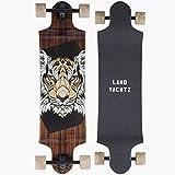 Landyachtz Switch 35 Longboard Complete Red Owl New 2017