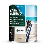 JOVIRA PINTURAS Barniz Marino AL Agua Especial Resistencia en ambientes Marinos. (750 ml, Brillante)