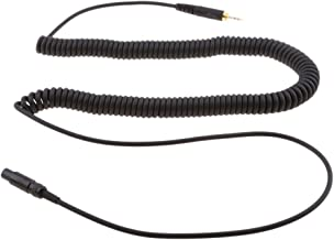 F Fityle 130cm Replacement Coiled Upgrade Cable for AKG K141 K171 K181 K240 Pioneer HDJ-2000 Headphone