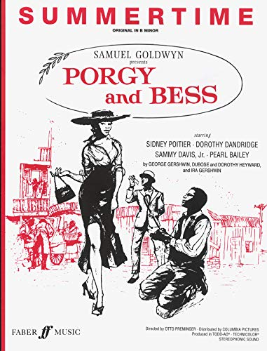 Summertime (from Porgy and Bess): Piano/Vocal, Sheet
