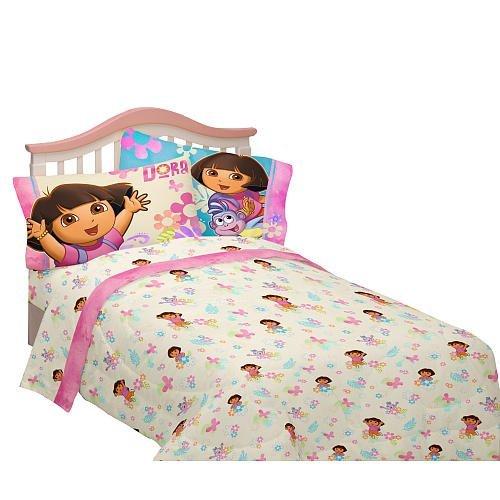 Nickelodeon Dora Explorar Juntos Juego de sábanas