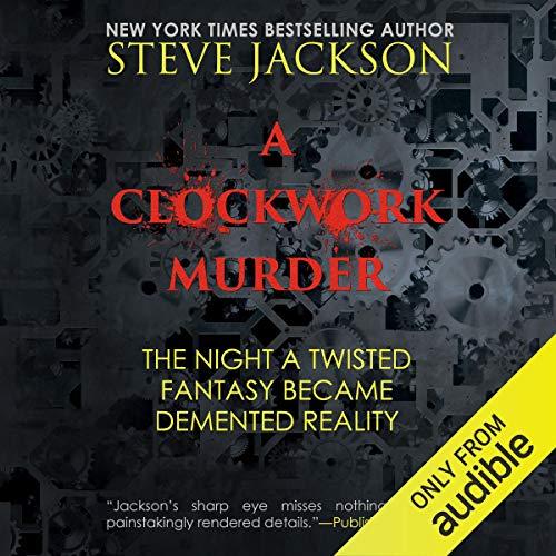 A Clockwork Murder audiobook cover art