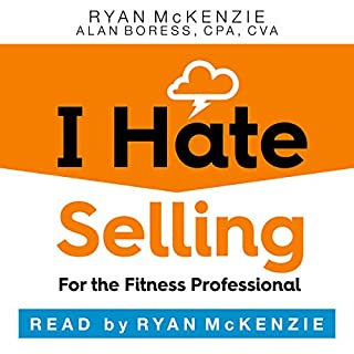 I Hate Selling for the Fitness Professional audiobook cover art