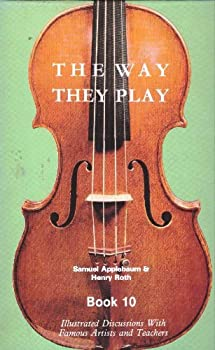 Way They Play, Vol. 10 0876665954 Book Cover