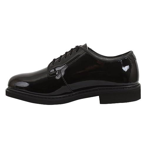 Rothco Uniform Hi-Gloss Oxford Dress Shoe f5dd689985b