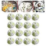 Haarball Für Waschmaschine, Fusselbälle Waschmaschine Waschbälle Fusselfänger, Haar Lint Flusen Greifen Wäsche Für Waschmaschine Ball Waschen,Haarentfernung Bälle für Waschmaschinen (16 PCS)
