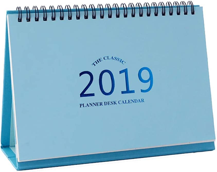 2019 Creative Simple Leather Desk Award Calendar Ca Solid Complete Free Shipping Color
