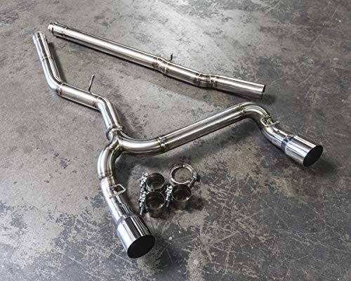 Agency Power AP-FOCRS-170 Exhaust System (Signature Cat back System Ford Focus RS), 1 Pack