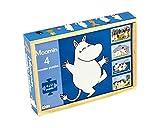 Moomins Moomin Set 4 Puzzles de Madera (Barbo Toys 7275)