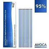 AVOCA Matita Caustica di Argento Nitrato al 95% per rimozione di Porri Verruche e Tessuti (Confezione da 10 applicatori flessibili 15 cm)