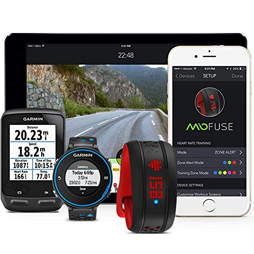 Mio FUSE Heart Rate, Sleep + Activity Tracker, Cobalt, Small/Medium