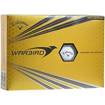 Callaway Warbird Bolas de Golf, Unisex Adulto, Blanco, Talla Única