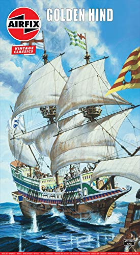 Airfix A09258V 1/72 Golden Hind Modellbausatz, Multi, 1: 72 Scale