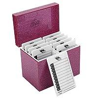 まつげ収納ボックス、10層アクリルまつげディスプレイメイクアップオーガナイザーフェイクまつげラックホルダー接ぎ木ツールホームビューティーサロンに最適