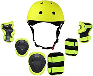 BMX Bici per Skateboard gomitiere per Ginocchia per Adulti e Bambini Polsi Mitef Set di Attrezzi protettivi Multiuso Scooter