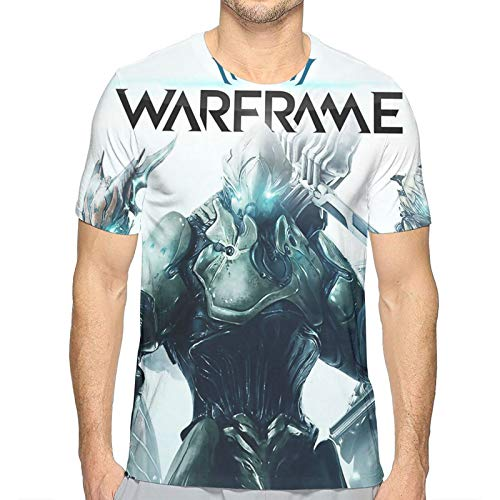 メンズ Tシャツ Warframe ター デザイン プリントおしゃれシンプル T-Shirt 通勤 通学 運動 日常用 S