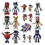 Figura de Sonic Juego Sonic Kid Sonic Hedgehog Sonic Juguete hecho a mano Decoración Regalo Navidad ...