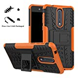 LiuShan Nokia 8 case, [Shockproof] Heavy Duty Combo Hybrid