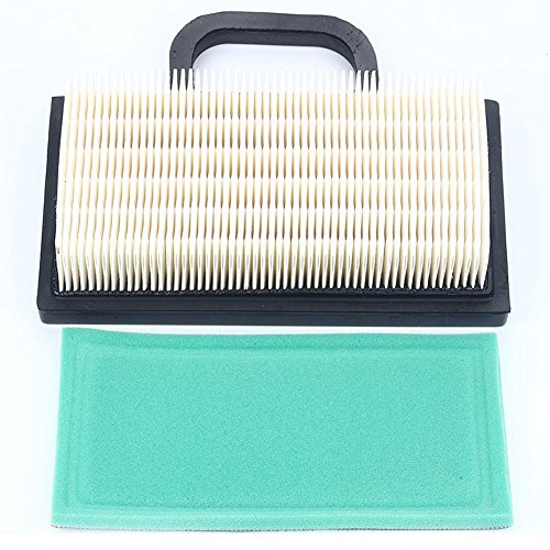 Harbot 698754 499486 499476S 499486S Air Filter 273638 273638S Pre-filter For 4209 4223 5063B 5063D 5063H Intek Extended Life Series V-Twin 18-26 HP Tractor Lawn Mower