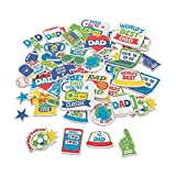 Father's Day Foam Shapes (300Pc) - Crafts for Kids and Fun Home Activities