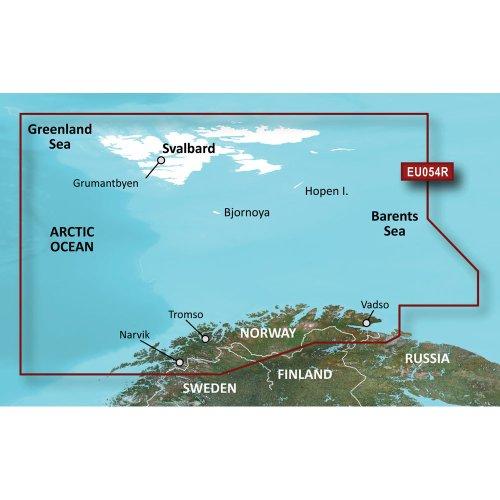 Garmin BlueChart g3 Seekarte Region Europa, Abdeckungsbereich HXEU055R - Finnische Seen, Kartengröße Regular