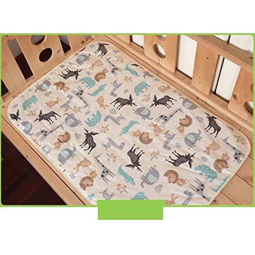 N / E Tres capas de algodón de fibra de bambú transpirable impermeable almohadillas para colchón protector de la hoja de colchón lindo accesorios para el hogar
