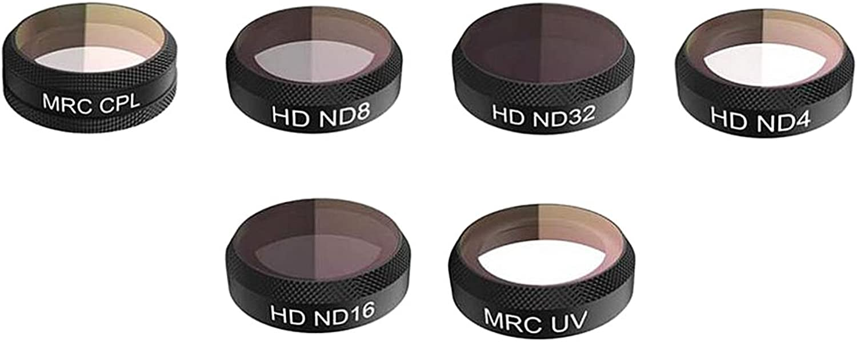 Baoblaze Gimbal Camera Lens Filter ND4 ND8 ND16 ND32 CPL UV for DJI Mavic Air Drone