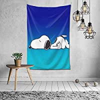 Snoopy Tapestry, Interior, Stylish, Room Decoration, Wall Decor, Art, Popular, Wall Hanging, Decorative, Decorative Supplies, Home, Bedroom, Room, Window Curtain, Scandivian, Curtain, Background, Celebration, Gift, Mother's Day, Cold Protection, Multifunctiol