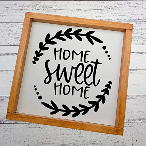 EricauBird Cartel decorativo de madera con diseño de Anne of Green Gables para decoración de pared, con marco de madera y placa de madera para el hogar, jardines, porche, cafeterías.