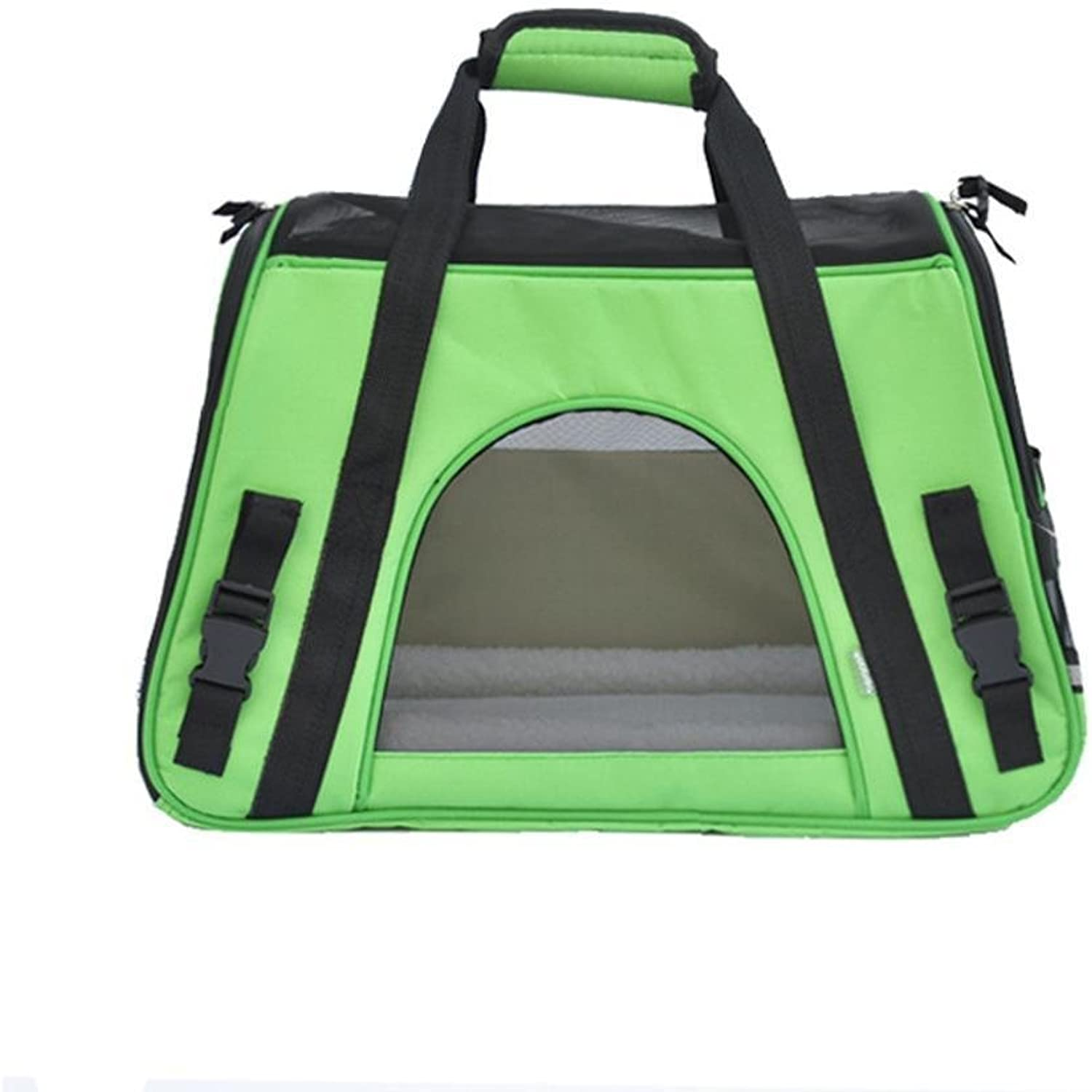 Dixinla Pet Carrier Backpack Portable Hand Bags Oxford Cloth 47  24  33cm