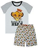 Disney El Rey León Pijama Listo para gobernar Pantalones Cortos para niños PJ