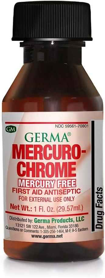 Mercuro-Chrome Max Sales results No. 1 88% OFF 1 OZ