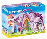PLAYMOBIL Hadas- Take Along Fairy Unicorn Garden Playset, Multicolor, Miscelanea (6179)