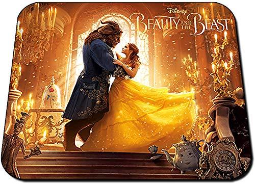 La Bella Y La Bestia Beauty and The Beast Emma Watson Dan Stevens Alfombrilla Mousepad PC